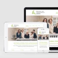 Webdesign für das Beratungs- und Trainingsinstitut Münster