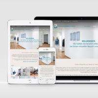 Webdesign für die kieferorthopädische Praxis Christiane Burger