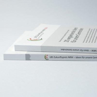 Editorialdesign, Projektdokumentation für die LBS Westdeutsche Landesbausparkasse