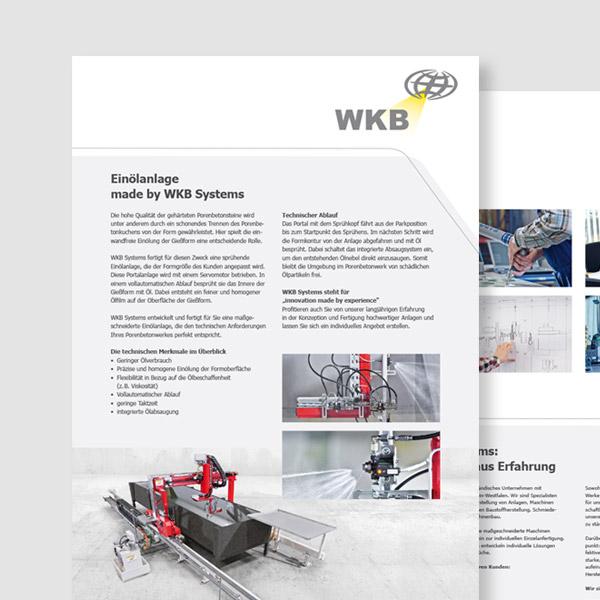 Portfolio WKB Systems GmbH