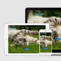 Webdesign für die Vier Pfoten Tierheilpraxis von Minou Cornils