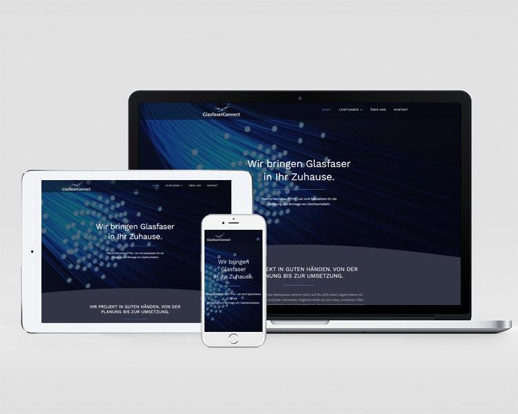 Webdesign Glasfaser Connect GmbH