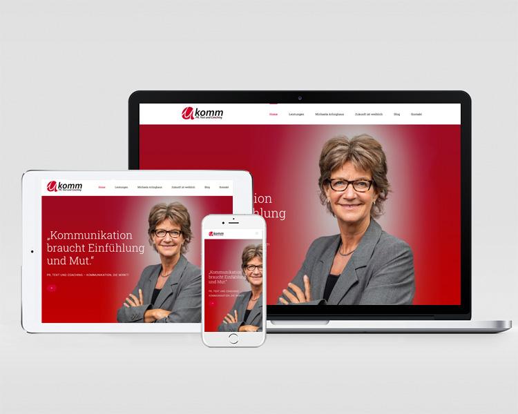 Webdesign Makomm