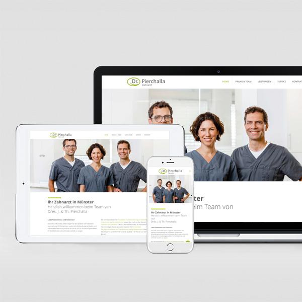 Webdesign Dr. Pierchalla