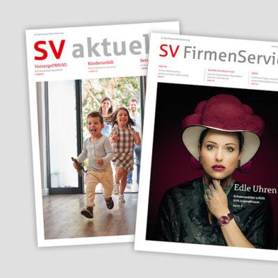Kundenmagazine der SV