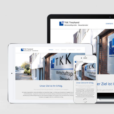 Webdesign TKK Treuhand